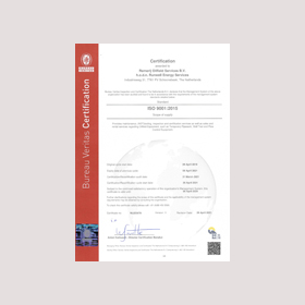 ISO 9001 2015 Certificate Remerij Oilfield Services Exp 09-04-2024
